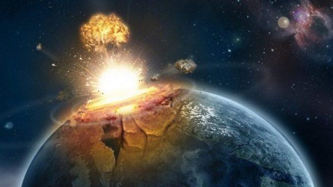 Impact météore