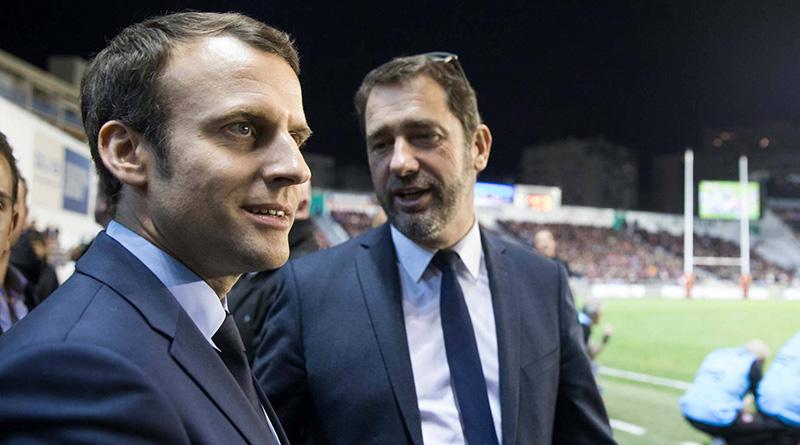 Macron et Castaner
