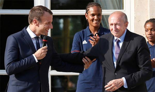 Macron et Collomb