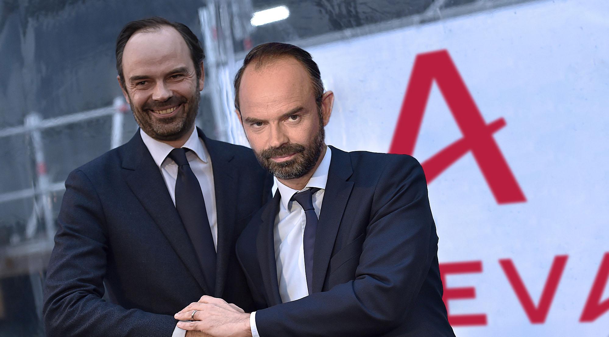 Edouard Philippe reçoit l'ancien directeur des affaires publiques d'Areva.