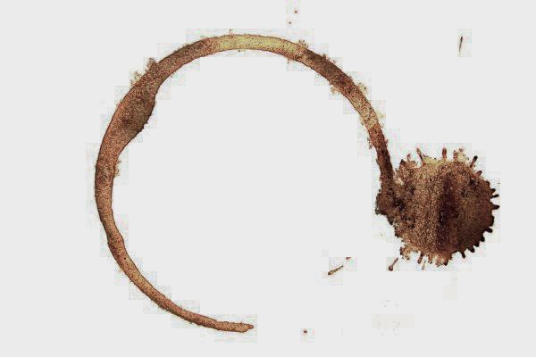Traces de café